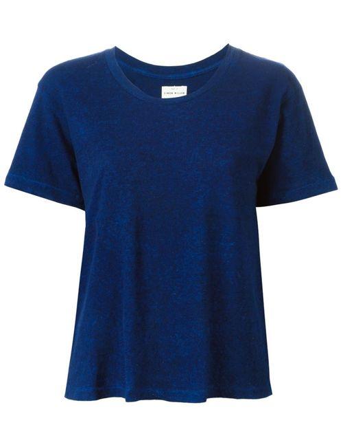 SIMON MILLER | Женское Синий Round Neck T-Shirt