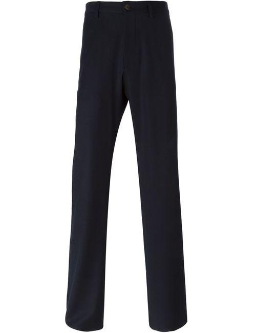 Giorgio Armani   Мужское Синий Regular Fit Trousers