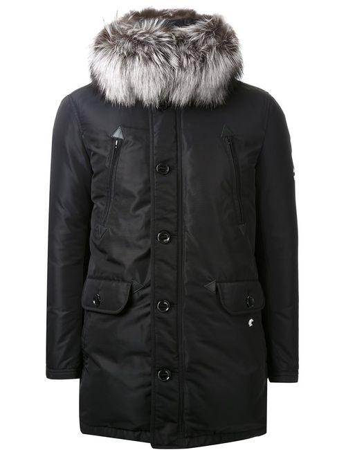 LOVELESS | Мужское Черный Fur Trimmed Hood Parka