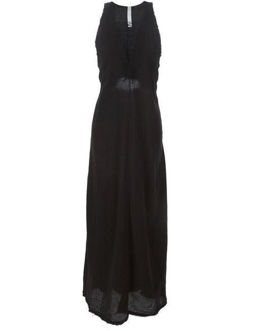 KITX | Женское Черный Длтинное Платье Без Рукавов