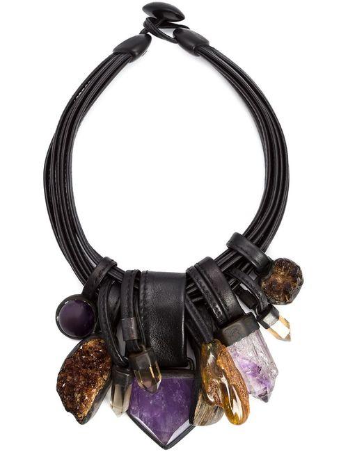 MONIES   Женское Коричневый Stone And Horn Necklace