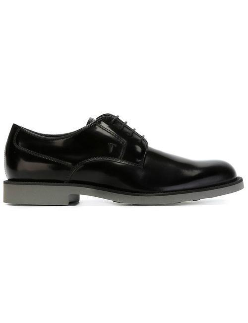 Tod'S | Мужские Чёрные Классические Туфли Дерби