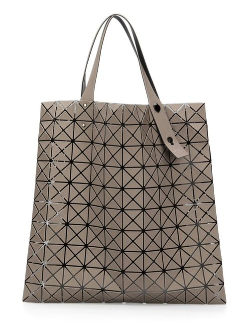 BAO BAO ISSEY MIYAKE   Женское Серый Geometric Pattern Tote Bag