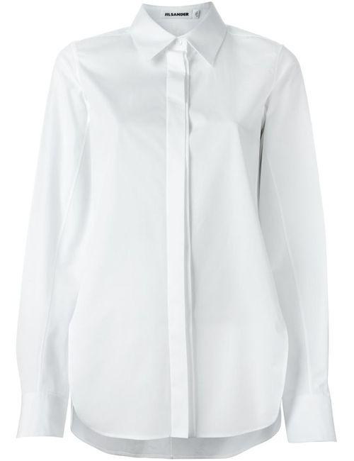 Jil Sander | Женское Белый Concealed Fastening Shirt