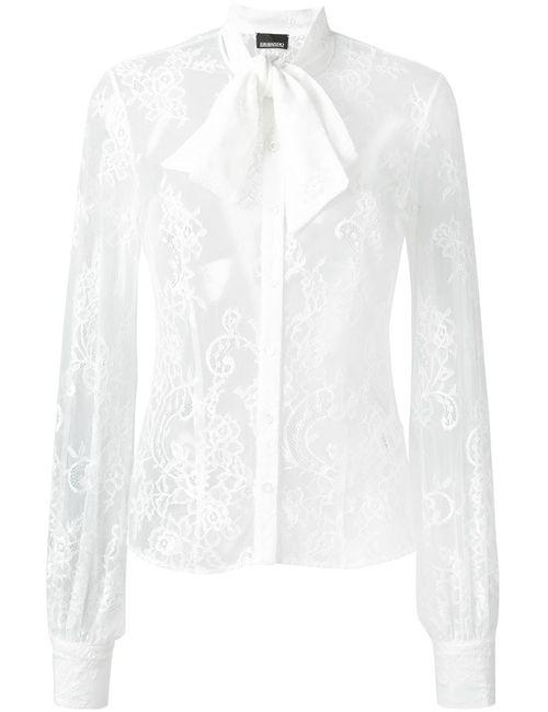Ermanno Scervino | Женская Белая Кружевная Рубашка