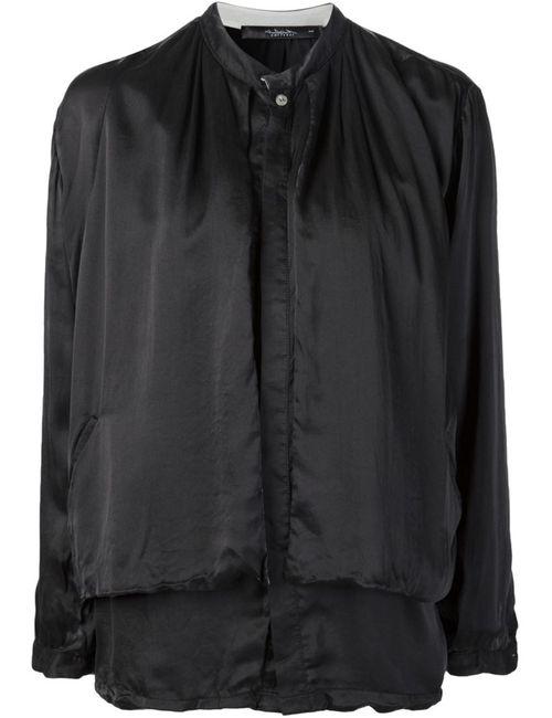 UMITUNAL | Женская Чёрная Многослойная Рубашка