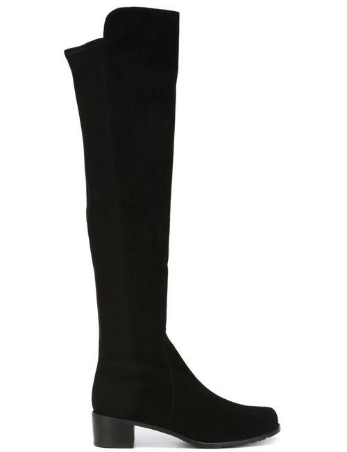 Stuart Weitzman | Женское Чёрный Reserve Boots