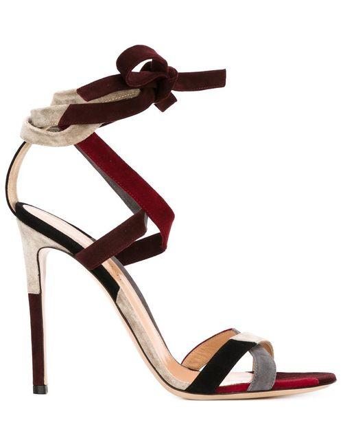 Gianvito Rossi | Женское Красный Strappy Stiletto Sandals