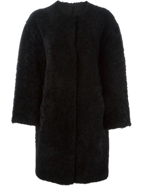 SPRUNG FRERES | Женское Чёрное Двухстороннее Пальто Alison