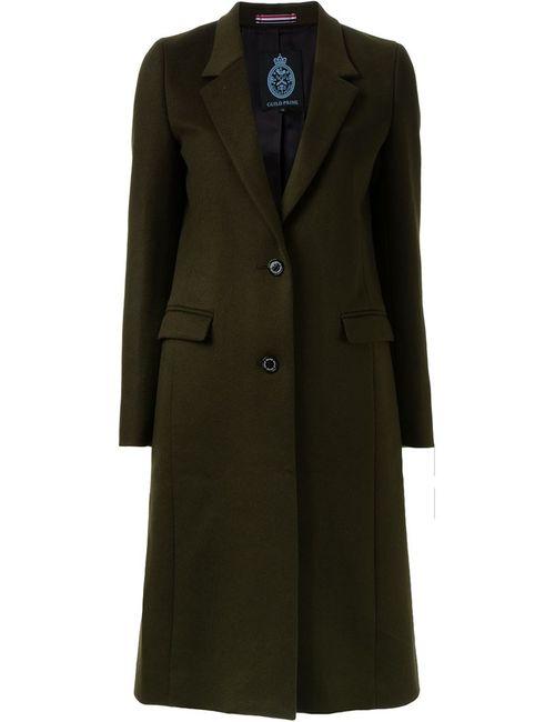 GUILD PRIME | Женское Коричневое Однобортное Пальто