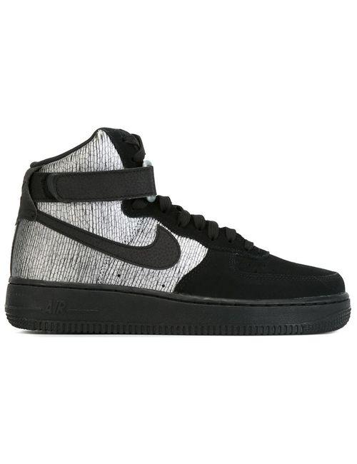 Nike | Мужские Чёрные Хайтопы Air Force 1
