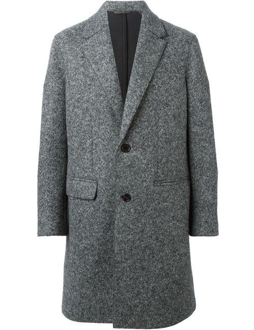 Neil Barrett | Мужское Серое Однобортное Пальто