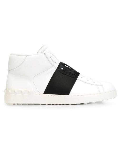 Valentino Garavani | Мужское Белый Open Hi-Top Sneakers