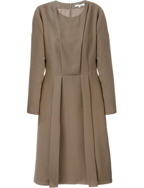 Carven | Женское Коричневый Longsleeved Midi Dress