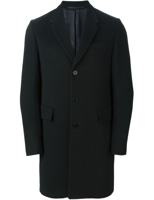 PS PAUL SMITH | Мужское Чёрное Классическое Однобортное Пальто