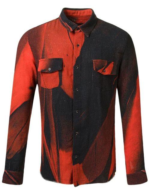 Osklen | Мужское Синий Printed Shirt