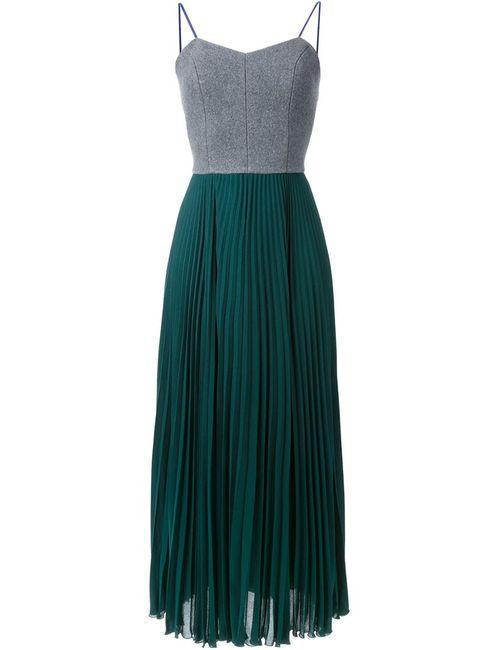 LE CIEL BLEU | Женское Серый Pleated Maxi Dress