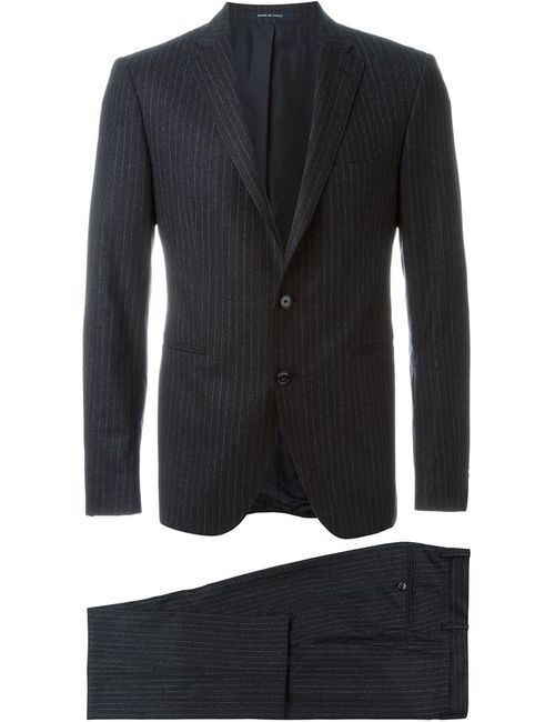Tagliatore | Мужское Серый Pinstriped Two Piece Suit