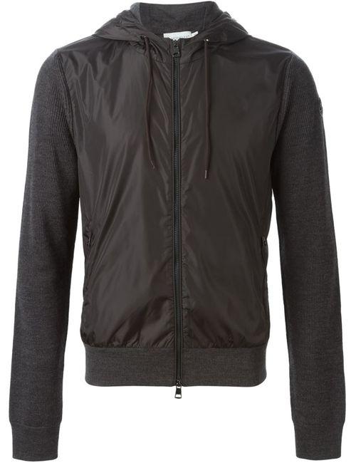 Moncler | Мужское Серый Two-Tone Sweatshirt