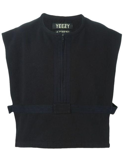 YEEZY | Мужской Чёрный Укороченный Жилет Adidas Originals By Kanye West