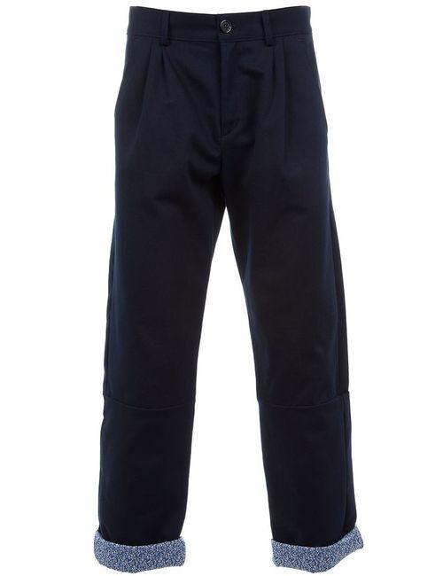 B-Store | Мужское Синий Basil Trouser