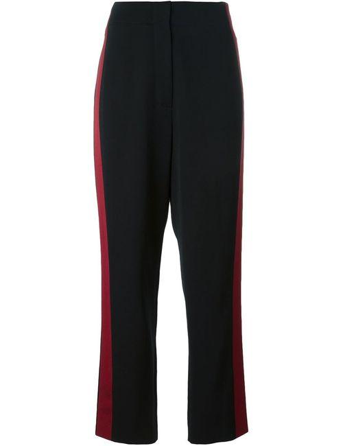Lanvin | Женское Чёрный Contrasting Stripe To The Side Trousers