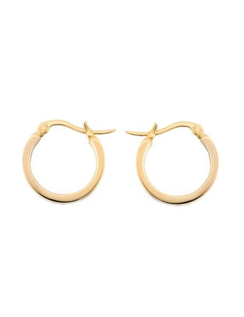 Marc by Marc Jacobs | Женское Чёрный Enamel Logo Mini Hoop Earrings