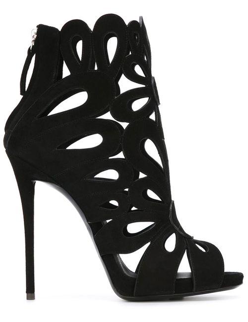 Giuseppe Zanotti Design | Женское Черный Cut Out Detail Boots