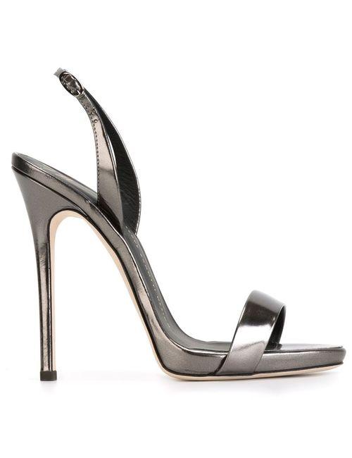 Giuseppe Zanotti Design | Женское Чёрный Sling Back Sandals