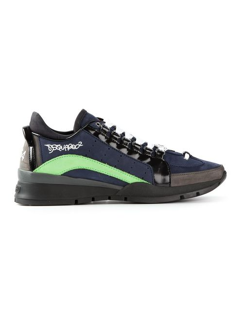 Dsquared2 | Мужское Синий Stylised Trainers