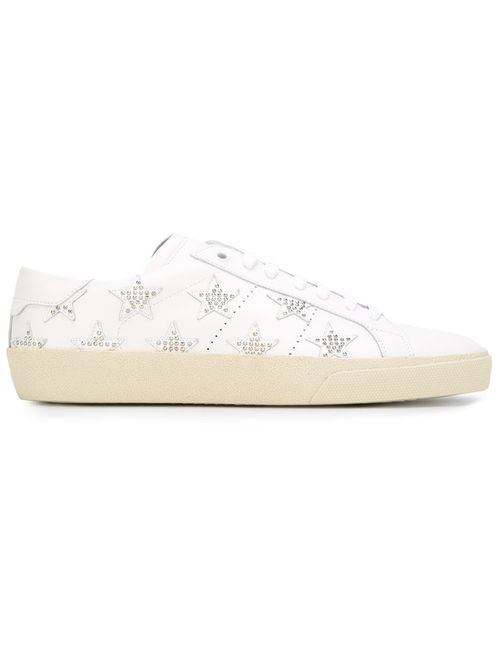 Saint Laurent | Мужское Белый Court Classic Sneakers