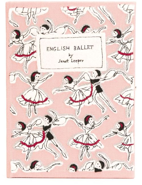 Olympia Le-Tan   Женский Розовый Клатч English Ballet