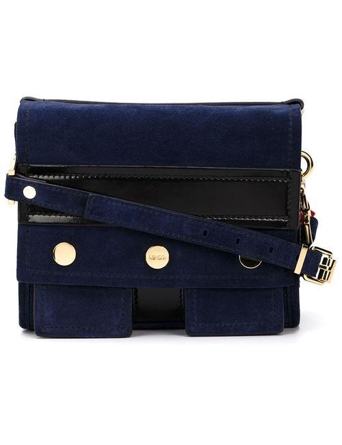 Kenzo | Женское Синий Biker Shoulder Bag