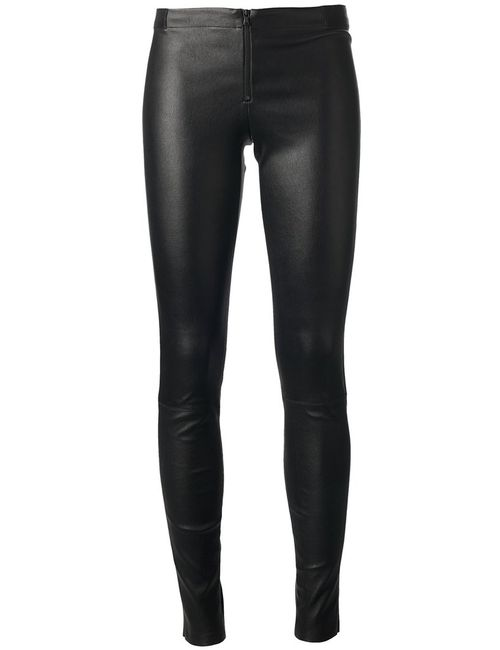 Alice + Olivia | Женское Чёрный Skinny Leather Trouser