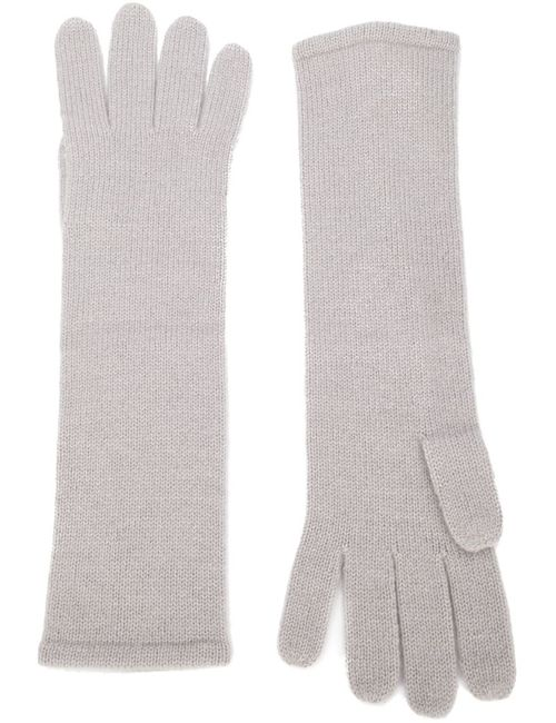 RYAN ROCHE   Женское Серый Knitted Long Gloves