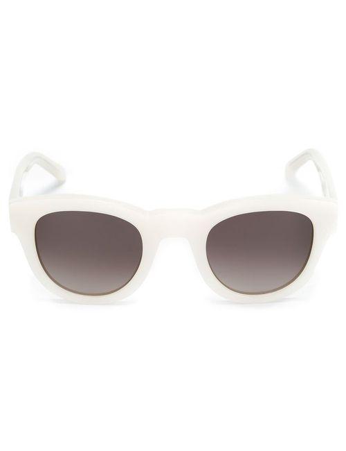 SUN BUDDIES | Женские Белые Солнцезащитные Очки Type 04