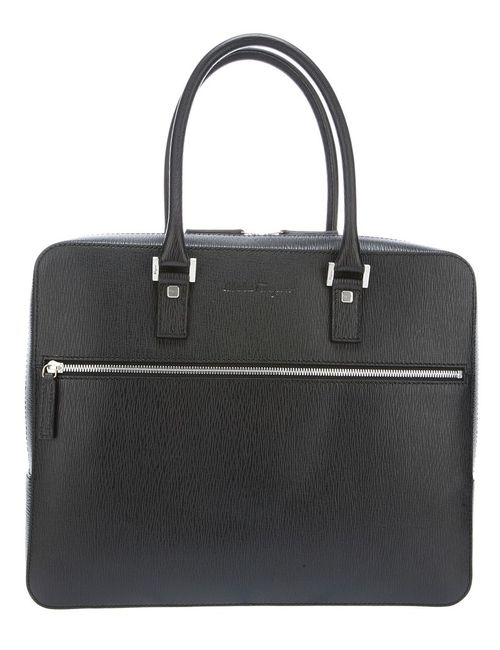 Salvatore Ferragamo | Мужское Чёрный Revival Briefcase