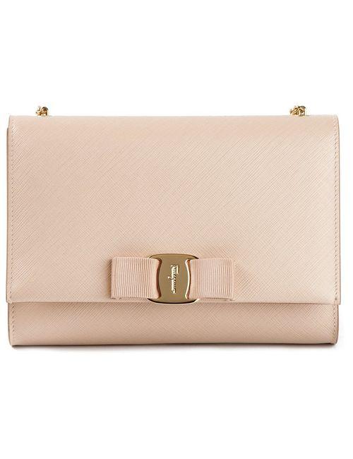 Salvatore Ferragamo | Женское Розовый Extra Large Vara Flap Shoulder Bag