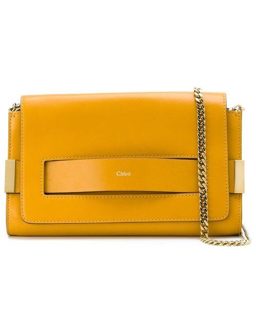 Chloe   Женское Желтый Elle Shoulder Bag