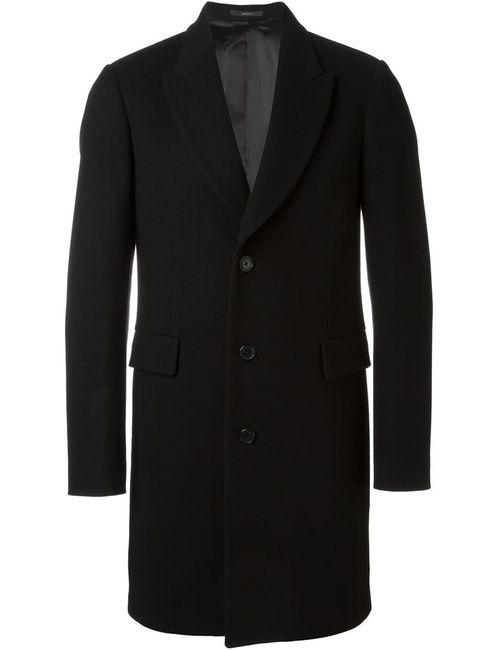 PAUL SMITH LONDON | Мужское Чёрное Однобортное Пальто
