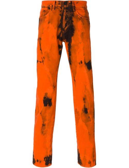Kenzo   Мужское Желтый Slim Fit Jeans