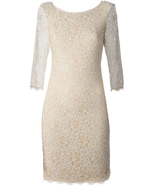 Diane Von Furstenberg   Женское Nude & Neutrals Lace Dress