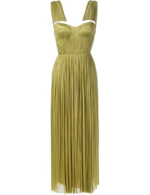 Maria Lucia Hohan | Женское Зелёное Вечернее Платье Marynn