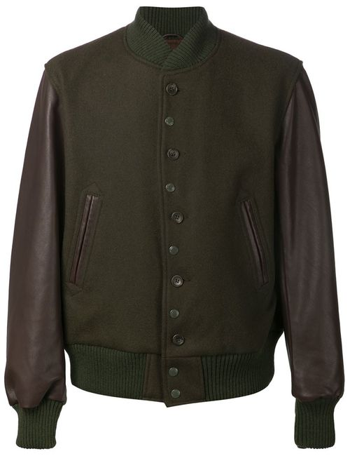 Engineered Garments | Мужское Зелёный Golden Bear Bomber Jacket