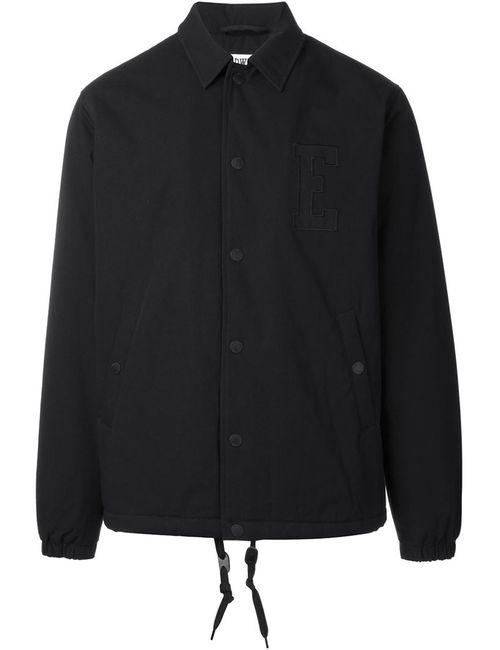 Edwin | Мужская Чёрная Университетская Куртка