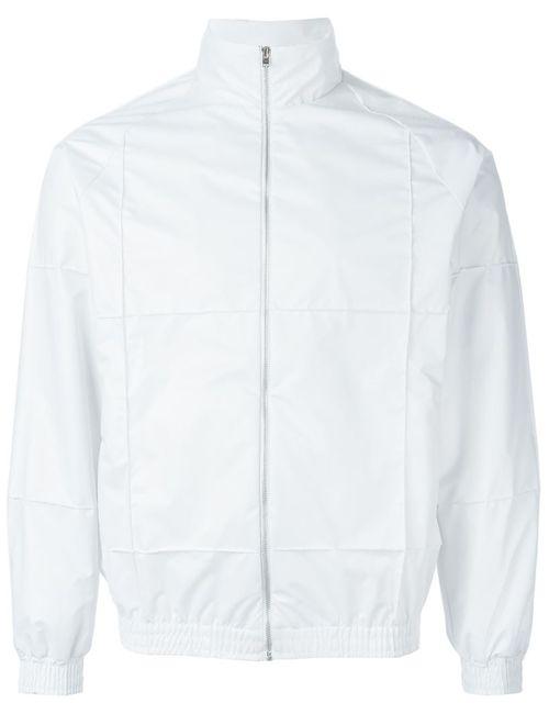 COTTWEILER | Мужское Белый Zipped Windbreaker