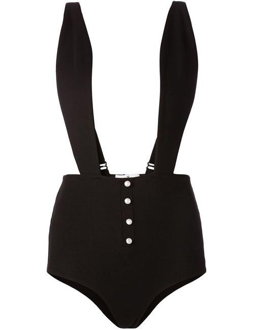 Fleur du Mal | Женское Черный Боди С Дизайном Кролик