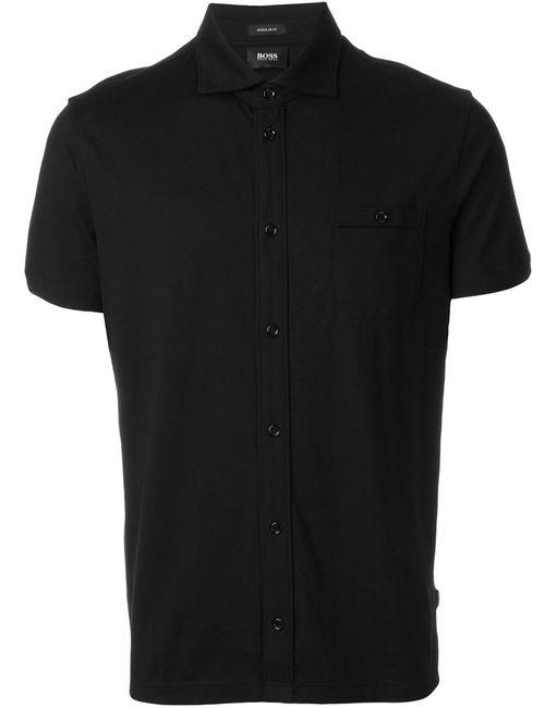 Boss Hugo Boss | Мужское Чёрный Shortsleeved Shirt