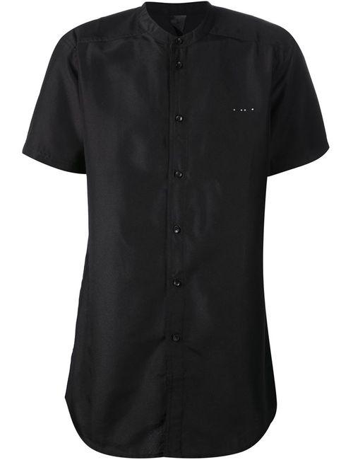 Publish | Мужская Чёрная Рубашка С Короткими Рукавами Draco