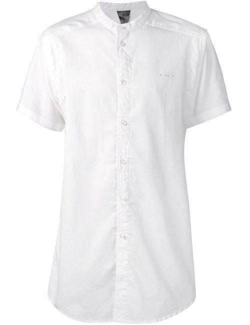 Publish | Мужская Белая Рубашка С Короткими Рукавами Draco